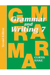Grammar & Writing  Homeschool Kit Grade 7 2nd Edition-9780544129290