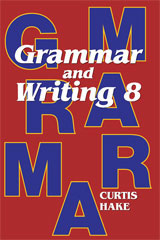 Grammar & Writing  Homeschool Kit Grade 8 2nd Edition-9780544129306