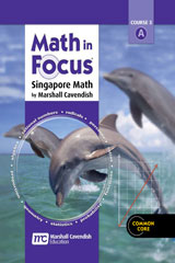 Math in Focus: Singapore Math  Homeschool Package 1st Semester Grade 8-9780544129382