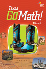 Go Math! Texas Student Edition Bundle Grade 2 ...