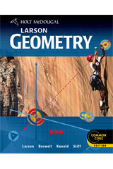 Holt McDougal Larson Geometry  Teacher's Edition with On Core Bundle-9780544139640