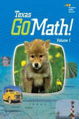 Go Math!  Student Edition Bundle Grade K-9780544139824