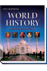 World History: Patterns of Interaction  Homeschool Package-9780544145894
