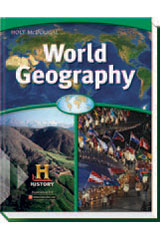 World Geography  Homeschool Package-9780544145924
