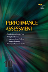 Collections  Performance Assessment Student Edition Grade 10-9780544147607
