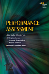 Collections  Performance Assessment Student Edition Grade 12-9780544147638