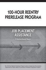 100-Hour Reentry Prerelease Program  Student Edition Job Placement-9780544148642