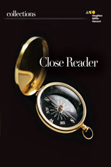 Collections  Online Close Reader, Student Access 7-year Grade 8-9780544154216