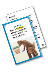 Senderos Estándares Comunes  Vocabulary in Context Cards Grade 6-9780544156241