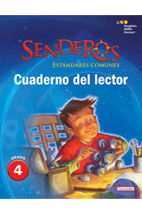 Senderos Estándares Comunes  Reader's Notebook Consumable Collection Set Grade 4-9780544156609
