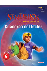 Senderos Estándares Comunes  Reader's Notebook Consumable Collection Set Grade 6-9780544156623