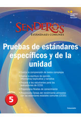 Senderos Estándares Comunes  Benchmark and Unit Tests Consumable Grade 5-9780544156753