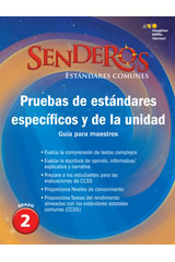 Senderos Estándares Comunes  Benchmark and Unit Tests Teacher's Edition Grade 1-9780544156791