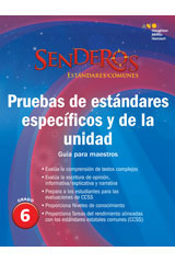 Senderos Estándares Comunes  Benchmark and Unit Tests Teacher's Edition Grade 5-9780544156838