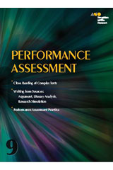 Houghton Mifflin Harcourt Collections  Performance Assessment Classroom Package Grade 9-9780544161382