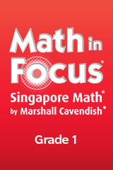 Math in Focus: Singapore Math  Student Workbook, Book A Grade 1-9780544193802