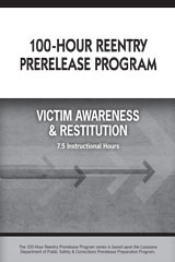 Steck Vaughn 100-Hour Re-Entry Prep Program  Student Edition 10pk Victim Awareness & Restitution-9780544213739