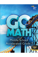 Go Math! 1 Year Student Edition eTextbook ePub Accelerated 7-9780544215092