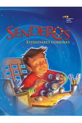 Senderos Estándares Comunes  On-Level Reader 6-pack Grade 4 Travesía en el tiempo-9780544228955