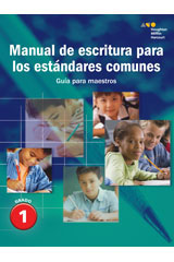 Senderos Estándares Comunes  Writing Handbook Teacher's Guide Grade 1-9780544231207