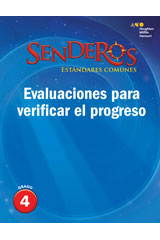 Senderos Estándares Comunes  Progress Monitoring Assessment Grade 4-9780544231375