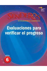 Senderos Estándares Comunes  Progress Monitoring Assessment Grade 6-9780544231399