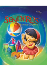 Senderos Estándares Comunes  Literacy Center Think & Write Flip Chart Grade 1-9780544231498