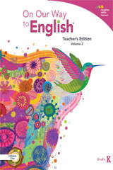On Our Way to English  Teacher's Edition Volume 2 Grade K-9780544235427