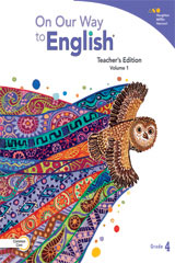 On Our Way to English  Teacher's Edition Volume 1 Grade 4-9780544235496