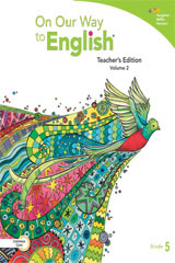 On Our Way to English  Teacher's Edition Volume 2 Grade 5-9780544235526
