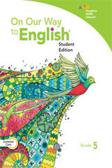 On Our Way to English 6 Year Print Student Edition and Activity Book Bundle Grade 5-9780544236165