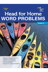 Head For Home  Word Problems Workbook Grade 3-9780544250079
