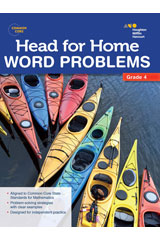 Head For Home  Word Problems Workbook Grade 4-9780544250086