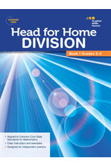 Head For Home Math Skills: Division, Book 1