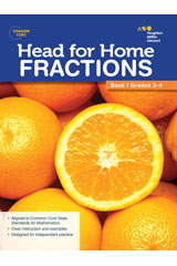 Head For Home Math Skills: Fractions, Book 1
