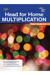 Head For Home Math Skills: Multiplication, Book 1