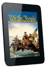 We the People  Online Premium Edition, Student Access (6-year subscription) The United States: Making a New Nation-9780544263185