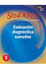Senderos Estándares Comunes  Comprehensive Screening Assessment Grade 5-9780544267992