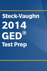 Steck-Vaughn GED  Test Preparation Print Bundle All Content Areas-9780544273832