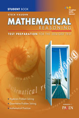 Steck-Vaughn GED  Test Preparation Student Edition Mathematical Reasoning-9780544274242