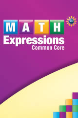 Math Expressions  Student Activity Book Collection 6 Pack (Softcover) with Whiteboard Grade 4-9780544276567