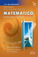 Steck-Vaughn GED Test Prep 2014 GED Mathematical Reasoning Spanish Student Edition