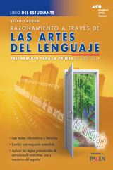 Steck-Vaughn GED Test Prep 2014 GED Reasoning Through Language Arts Spanish Student Edition