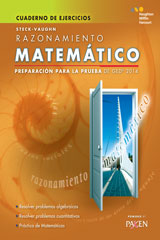 Steck-Vaughn GED  Test Prep 2014 GED Mathematical Reasoning Spanish Student Workbook-9780544301337