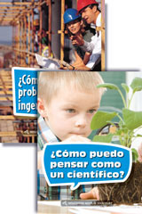Science and Engineering Leveled Readers  Spanish STEM Reader Pack Grade 2-9780544324879