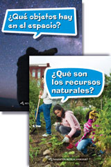Science and Engineering Leveled Readers  Spanish Earth Science Reader Pack Grade 3-9780544324978