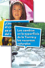 Science and Engineering Leveled Readers  Spanish Earth Science Reader Pack Grade 4-9780544325067