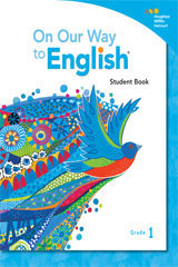 On Our Way to English  Poster and Card Package Grade 1-9780544375697