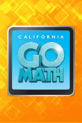Go Math 2014 California Getting Started eLearning 1 User License Grade  6-8-9780544381124