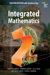 HMH Integrated Math 2  Teacher's Edition with Solutions-9780544389861